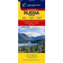 Oroszország térkép Cartographia 1:3 750 000  90x60 cm