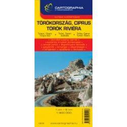 Törökország térkép Cartographia 1:900 000  2013