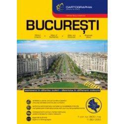 Bukarest városatlasz  1:20e.