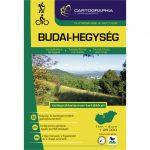 Budai-hegység turistakalauz Cartographia 2017 1:25 000 Budai-hegység térkép