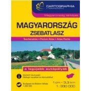 Magyarország zsebatlasz Cartographia 2017 1:250 000