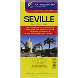 Sevilla térkép Cartographia 1:17 000