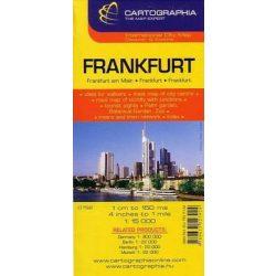 Frankfurt térkép Cartographia 1:20 000