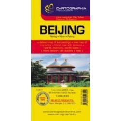 Peking térkép Cartographia 1:28 000