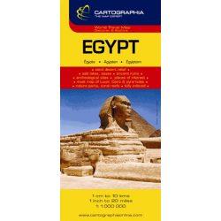 Egyiptom térkép Cartographia 1:1 000 000