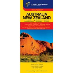 Ausztrália térkép, Új-Zéland térkép Cartographia