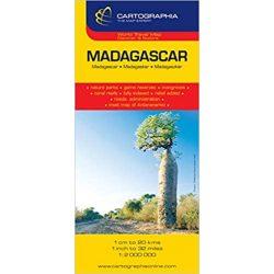 Madagaszkár térkép  Cartographia 1:2 000 000
