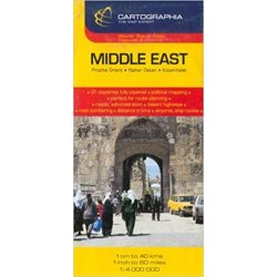 Közel-Kelet térkép Cartographia 1:4 000 000