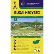 Budai-hegység turistatérkép Cartographia 2018 1:25 000 Budai hegység térkép