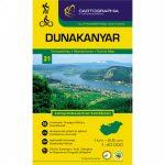 Dunakanyar turistatérkép 31. Cartographia 1:40 000  2016