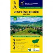Zempléni-hegység déli rész turistatérkép 23. Cartographia 2017 1:40 000