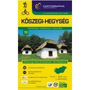 Kőszegi-hegység turistatérkép 13. Cartographia 2016 1:40 000