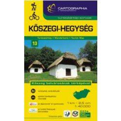 Kőszegi-hegység turistatérkép 13. Cartographia 2018 1:40 000