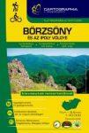 Börzsöny turistakalauz Cartographia, Börzsöny atlasz spirál 2015 1:40 000