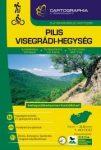 Pilis és Visegrádi-hegység turistakalauz  Cartographia 2016 1:40 000, Pilis térkép