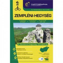 Zempléni-hegység turistakalauz Cartographia 2017 1:40 000
