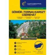 Aggtelek, Gömör-Tornai karszt, Cserehát túrakalauz Cartographia kiadó 1:40 000
