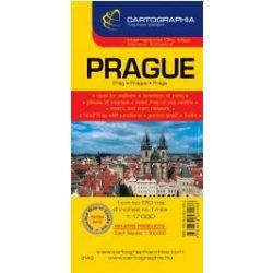 Prága térkép Cartographia 1:20 000  2012