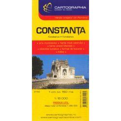Konstanca térkép Cartographia 1:11 000