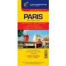 Párizs térkép Cartographia 1:13 500