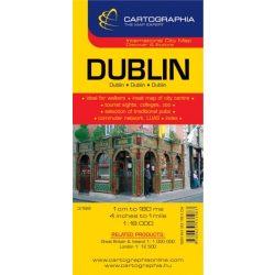 Dublin térkép Cartographia 1:18 000   2007