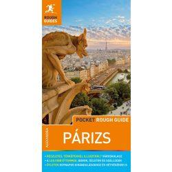 Párizs útikönyv térképpel Pocket Rough Guides Alexandra kiadó 2019 magyar nyelvű