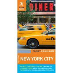 New York City útikönyv térképpel Pocket Rough Guides Alexandra kiadó 2019 magyar nyelvű