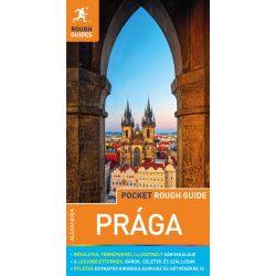 Prága útikönyv térképpel Pocket Rough Guides Alexandra kiadó 2019 magyar nyelvű