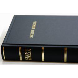 Szent Biblia nagybetűs családi Biblia - Károli fordítás 2017 Magyar Bibliatársulat 30x21 cm