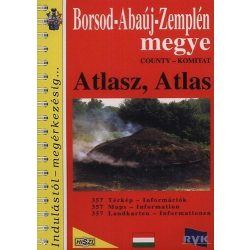 Borsod-Abaúj-Zemplén megye atlasz HiSzi Map