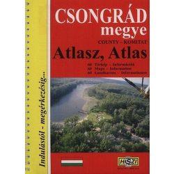 Csongrád megye atlasz HiSzi Map
