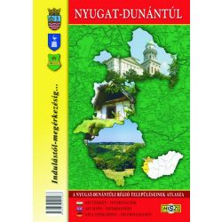 Nyugat-Dunántúl atlasz - A Nyugat-Dunántúli régió településeinek atlasza
