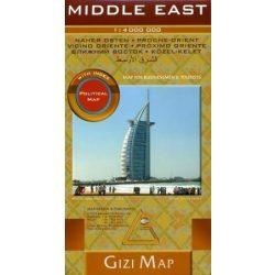 Közel-Kelet térkép Gizi Map 1:4 000 000 2009