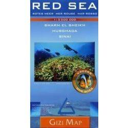 Red Sea Vörös Tenger térkép Gizi Map 1:4 000 000