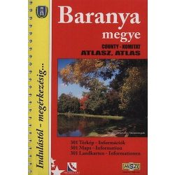 Baranya megye atlasz HiSzi Map