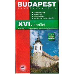 Budapest XVI. kerület térkép Topopress 1:10 000