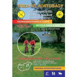 Tisza-tó, Hortobágy kerékpáros és vízitúra kalauz térkép Frigória 2016
