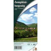 Zempléni hegység turista térkép Nyír-Karta Kft. 2014 1:50 000