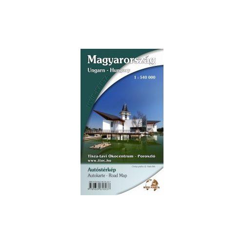 magyarország térkép poroszló Magyarország térkép, Magyarország autótérkép Nyír Karta 2017 18 1  magyarország térkép poroszló