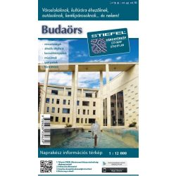 Budaörs térkép 1:12 000  Stiefel 2017