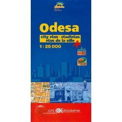 Odessza térkép Kartographia 1:26 000