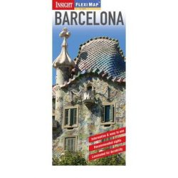 Barcelona térkép Insight Flexi Map 1:15 000