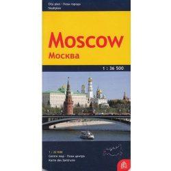 Moszkva térkép Jana Seta 1:36 500