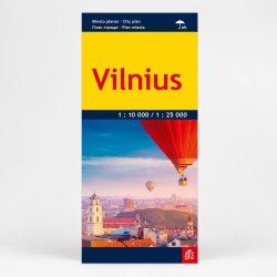Vilnius térkép Jana Seta 1:10 000
