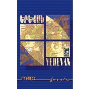 Yerevan - Jereván térkép - Collage 1 : 3 350 000