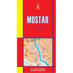 Mostar térkép Intersistem 1:9000