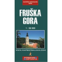 Fruska Gora turista térkép Intersistem 1:58 000