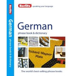 Berlitz német szótár German Phrase Book & Dictionary