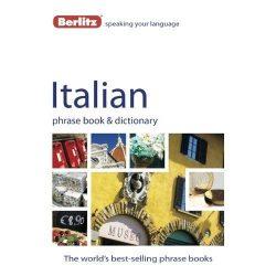 Berlitz olasz szótár Italian Phrase Book & Dictionary
