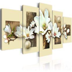 Kép - Texture and magnolia 100x50
